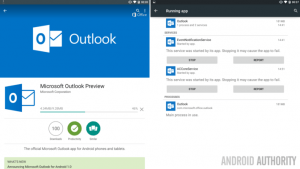 Fim do Outlook Preview