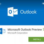 Fazer cópia de e-mails para o Outlook Preview