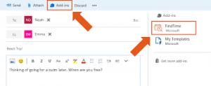 FindTime o novo aplicativo para o Outlook