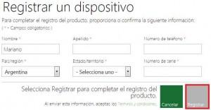 Registrar um Xbox em uma conta do Outlook.com