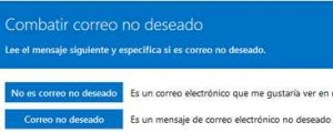 Spam Fighters Programa no Outlook.com