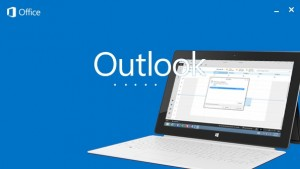 Adicionando um tablet Surface para Outlook.com