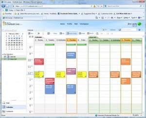 Novo Calendário Outlook.com