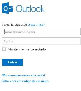 Aumentar tamanho do texto no Outlook.com
