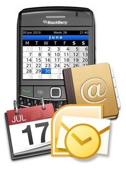 Aceder pelo BlackBerry ao Outlook.com