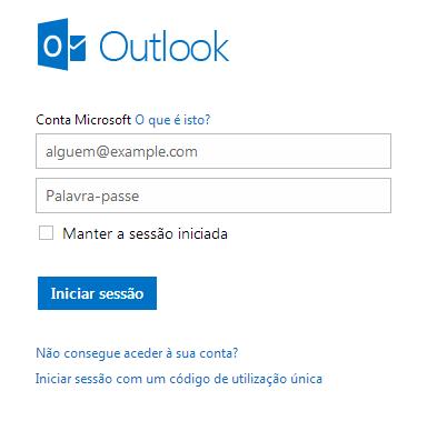 Alterar os dados pessoais no Outlook