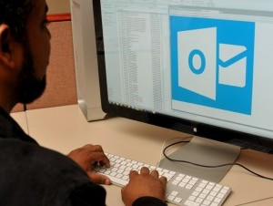 As redes sociais e o Outlook