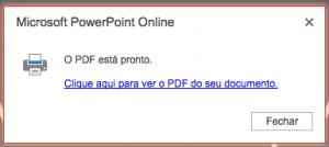 PowerPoint para PDF