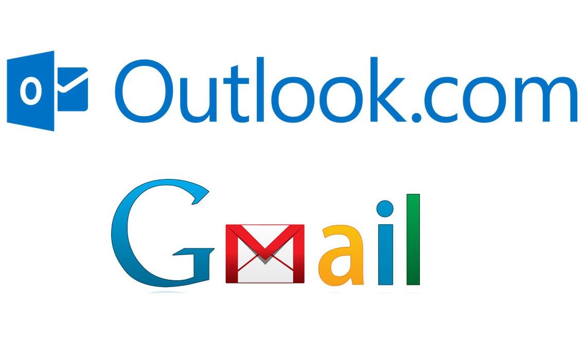 Como receber correios do Gmail no Outlook
