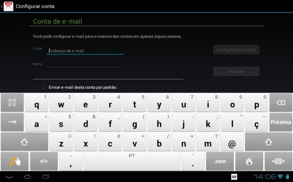 Configurar Outlook no Android