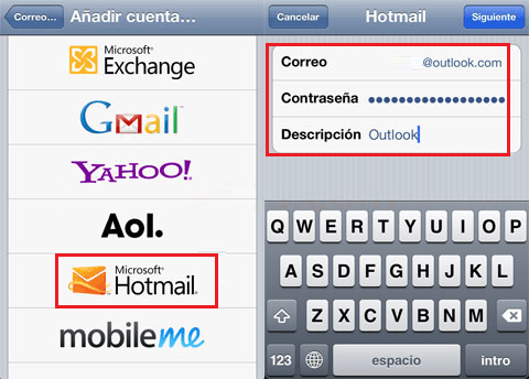 Configurar o Outlook no iOS