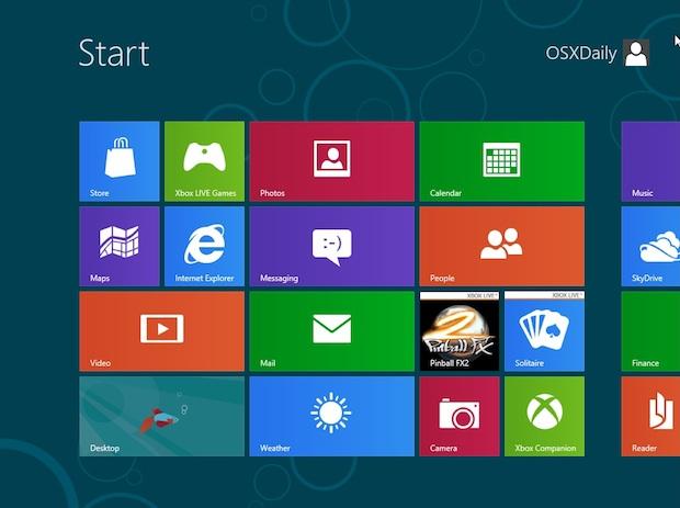 Configurar o Outlook num tablet com Windows 8