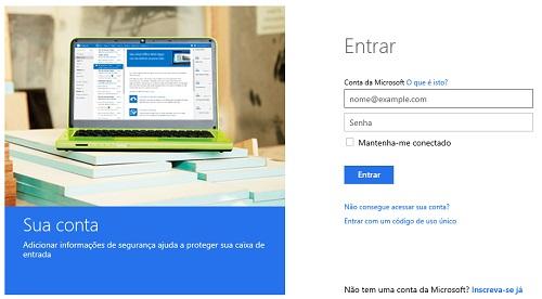 Desbloquear uma conta no Outlook