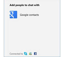 Google Talk, a novidade do Outlook
