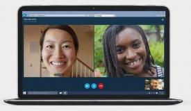 Chamadas em grupo no Skype Web