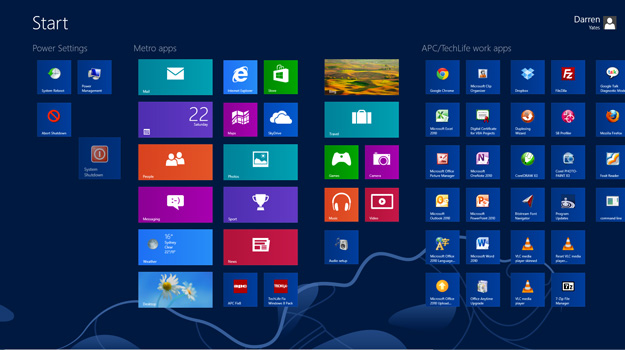 Outlook no Windows 8