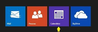 calendário do Outlook