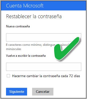 Pode-se recuperar a senha do Outlook?