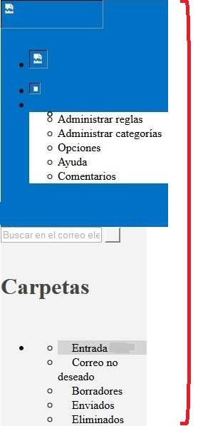 Dificuldades para visualizar corretamente o Outlook.com