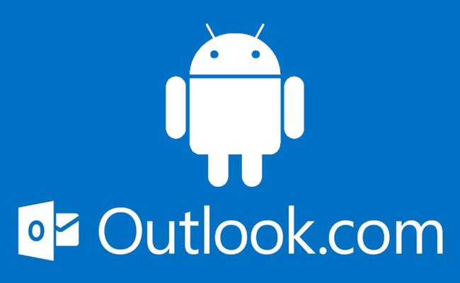 versão do Outlook para Android